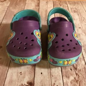 Girls Butterfly CROCS